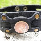 Indian Head Penny USA Bracelet wristband Customize Buffalo Leather wristband