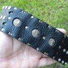 Cuff Indian Navajo  style ketoh  Men bracelet Tibetan silver Handmade signed