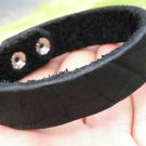 Handmade Bracelets  American Genuine Buffalo Leather cuff wristband  made by mg