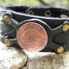 Handmade your wrist Bracelet American Bison RUSSIA 2 Kopecks 1885 * AUTHENTIC