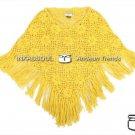 INKASSOUL alpaca PONCHO - PON001 - AU-615 (yellow)