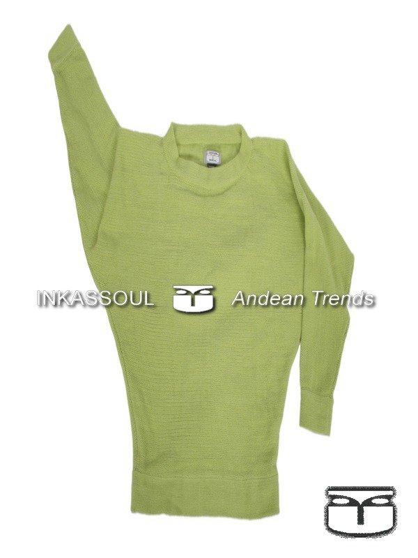 INKASSOUL SWEATER - SWE020 - BR-603 (light green) - Medium