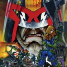 Judge Dredd Brutal Comic Art16x12 Print Poster