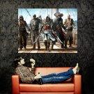 Assassin S Creed 4 Black Flag Pirates Huge 47x35 Print Poster
