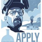 Apply Yourself Breaking Bad Serials 24x18 Print POSTER