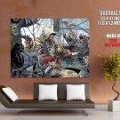 Assassin S Creed 4 Black Flag Game Art HUGE GIANT Print Poster