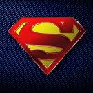 Superman Logo Superhero 16x12 Print Poster