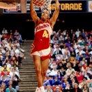 Spud Webb Slam Dunk Contest Hawks NBA Basketball 16x12 POSTER