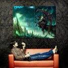 World Of Warcraft WoW Illidan Art Huge 47x35 Print POSTER