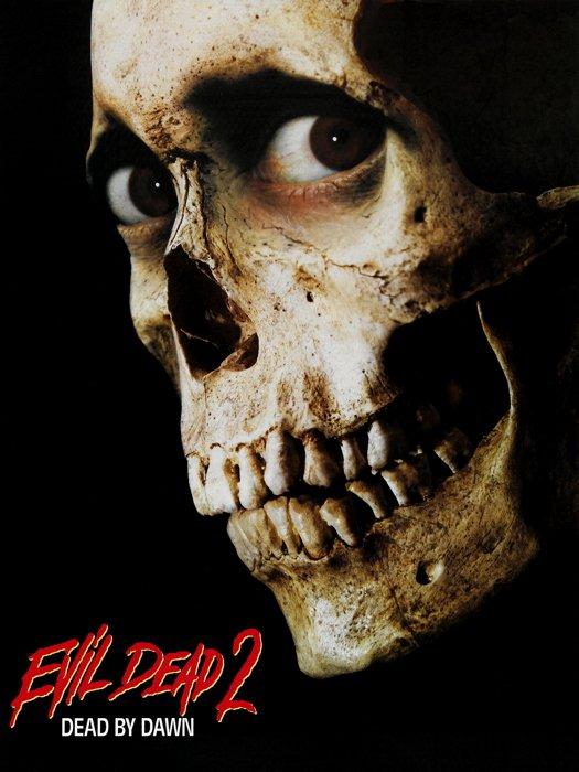 Evil Dead 2 Movie Skull 32x24 Print Poster