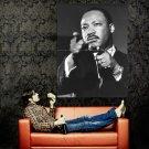 Martin Luther King Jr BW Huge 47x35 Print Poster