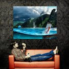 Far Cry 3 Dagger Water Art Video Game Huge 47x35 Print Poster