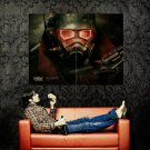 Fallout New Vegas Armor Video Game Huge 47x35 Print Poster