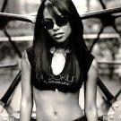 Aaliyah Dana Haughton BW R B Music 16x12 Print POSTER