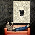Beer Varieties Types Diagram Huge 47x35 Print Poster