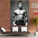 Manny Pacquiao Bw Boxing Sport Huge Giant Print Poster