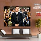 Leonardo Dicapro Wolf Of Wall Street Movie Huge Giant Print Poster