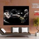 Anderson Silva Kick Vitor Belfort Spider Mma Martial Arts Huge Giant Poster