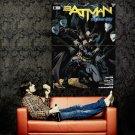 Batman Night Of The Owls Comic Art Huge 47x35 Print Poster