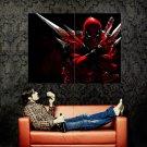 Deadpool Marvel Comics Art Huge 47x35 Print POSTER