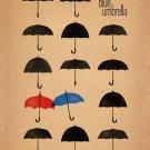 The Blue Umbrella 2013 Pixar Movie Art 16x12 Print Poster