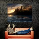 Harry Potter And The Deathly Hallows Castle Huge 47x35 Print Poster