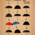The Blue Umbrella 2013 Pixar Movie Art 24x18 Print Poster