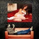 Louisa Marie Hot Model Sexy Stocking Huge 47x35 Print Poster