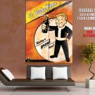 Vault Boy Fallout Nuka Beer Ad Video Game Huge Giant Print Poster