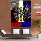 Legend Of Zelda Ocarina Time Art Huge Giant Print Poster