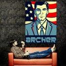 Archer Art TV Series Huge 47x35 Print Poster