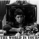 The World Is Yours Scarface Pacino 32x24 Print Poster