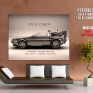 DeLorean Back To The Future Movie HUGE GIANT Print Poster