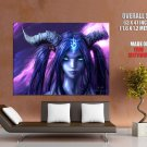 World Of Warcraft Wo W Draenei Art Huge Giant Print Poster