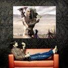 Game Of Thrones Daenerys Targaryen TV Series Huge 47x35 Print Poster