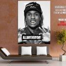 Asap Rocky Hip Hop Rap Music Huge Giant Print Poster