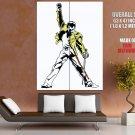 Freddie Mercury Legend Rock Music Art Huge Giant Print Poster