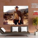 Clint Eastwood Good Bad Ugly Western Huge Giant Print Poster