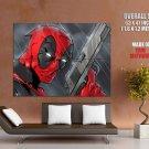 Deadpool Marvel Comics Art Pistol HUGE GIANT Print Poster