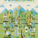 Bumbershoot International Music And Art Fest 32x24 Print POSTER