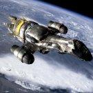 Serenity Firefly Vessel Spaceship TV Series 32x24 Print POSTER