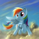My Little Pony Rainbow Dash Art 24x18 Print Poster