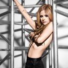 Avril Lavigne Hot Singer Sexy Topless 24x18 Print POSTER