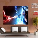 In Famous 2 Cole Mac Grath Electric Charge Art Huge Giant Print Poster