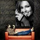 Cheryl Cole Hot BW Portrait Huge 47x35 Print Poster