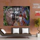 The Large Hadron Collider Hi Tech HUGE GIANT Print Poster