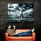 Cristiano Ronaldo Soccer Football Huge 47x35 Print Poster