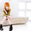 Hayley Nichole Williams Redhead Girl 16x12 Print POSTER