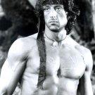 John Rambo BW Sylvester Stallone Action Movie 16x12 POSTER