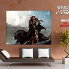 Guild Wars 2 Concept Art Mmorpg Huge Giant Print Poster